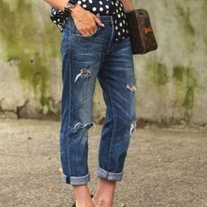 Free People 1957 Boyfriend Jeans 27